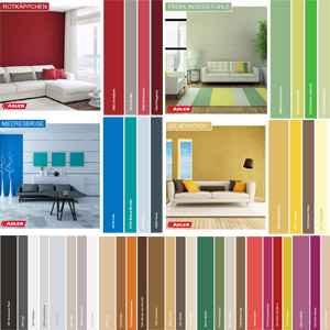 Дизайн интерьера. цветовые решения