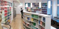 Стеллажи в библиотеке университета Мюнстера