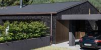 Дом в черном – стиль в современном строительстве